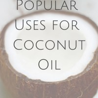 The Most Popular Uses for Coconut Oil